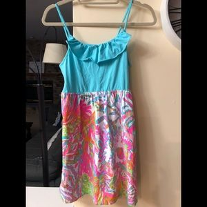 Lilly Pulitzer kids dress size XL
